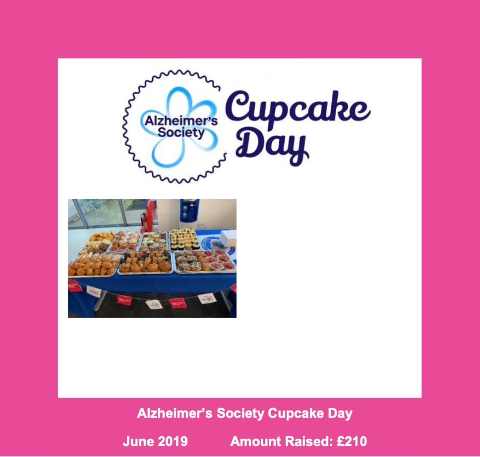 Alzheimers Soceity Cupcake Day 2019 Mobile