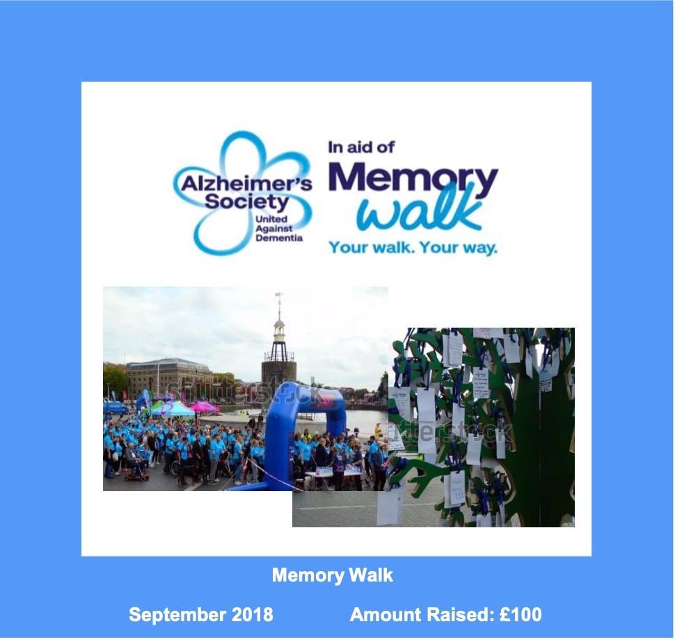 Memory Walk 2018 Mobile